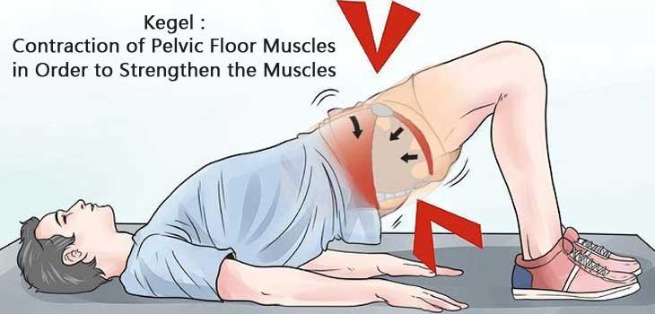 تقویت عضله کگل بری درمان اختلال نعوظ